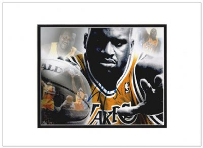 Shaquille O'Neal Authentic Autograph Signed Photo - Basketball